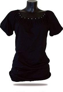 Tričká - Dámske tričko Barrsa Ellas Long Black - 8364258_