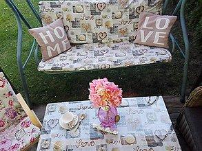 Úžitkový textil - Poťah na záhradnú hojdačku - 8364377_