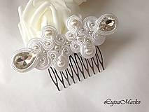 Ozdoby do vlasov - Sibyla hrebienok - 8364424_
