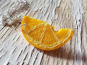 Náhrdelníky - AKCIA! nakusnutý citrónik - náhrdelník - 8365006_