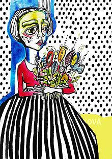 Kresby - Z lúky kvet - 8366692_