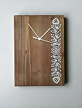 Hodiny - Na dreve maľované • hodiny - 8367860_