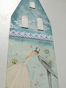 Dekorácie - Svadobná dekorácia - 8367111_