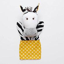 Hračky - Maňuška zebra - 8367863_