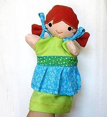 Hračky - Maňuška dievčatko - Gabriela - 8366539_