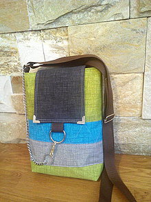 Kabelky - Crossbody COLORED STRIPES II - 8367356_