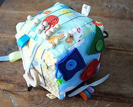 Hračky - Veľká montessori kocka More - 8366836_