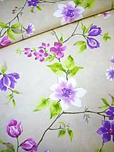Textil - Poťahovka -  lúčne kvety - 8366738_