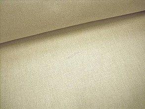 Textil - Poťahovka UNI jednofarebná režná - 8366907_