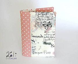 Papiernictvo - Obal na knihu Paríž - 8365480_