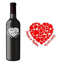 Darčeky pre svadobčanov - Svadobná etiketa Jela - Vyrezávané etikety, Svadobné etikety, Etikety na víno, Vinylové etikety, Etikety na fľaše, Nálepky na víno - 8367736_