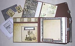Papiernictvo - Luxusný fotoalbum k narodeninám muža (kronika) - 8366662_