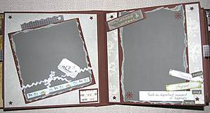 Papiernictvo - Luxusný fotoalbum k narodeninám muža (kronika) - 8366663_