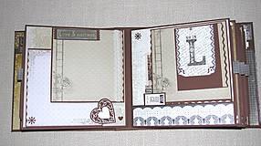 Papiernictvo - Luxusný fotoalbum k narodeninám muža (kronika) - 8366670_