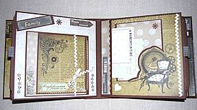 Papiernictvo - Luxusný fotoalbum k narodeninám muža (kronika) - 8366672_