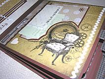 Papiernictvo - Luxusný fotoalbum k narodeninám muža (kronika) - 8366673_