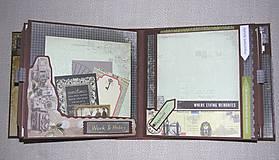 Papiernictvo - Luxusný fotoalbum k narodeninám muža (kronika) - 8366676_