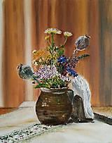 Obrazy - Lúčne kvety - 8366170_