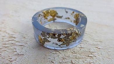 Prstene - Živicový prsteň - 8369577_