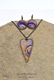Sady šperkov - Arttexová sada šperkov \