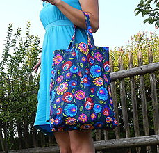 Nákupné tašky - Babičkina záhrada - 8369144_