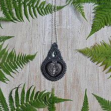 Náhrdelníky - Voyage en Arabie -Black silver - náhrdelník - 8369500_