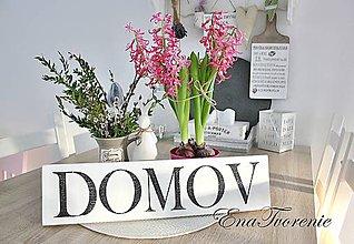 Tabuľky - Tabuľka DOMOV - 8367918_