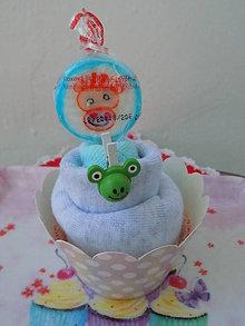 Iné doplnky - Cupcake ponožkový - 8368418_