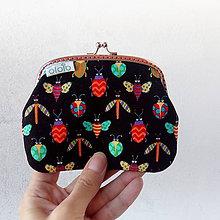 Peňaženky - Peňaženka XL Chrobáčiky - 8368070_