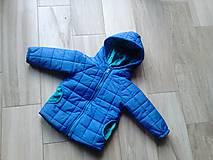 Detské oblečenie - Modrá vetrovka - 8369189_