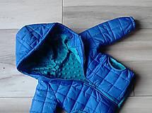 Detské oblečenie - Modrá vetrovka - 8369190_