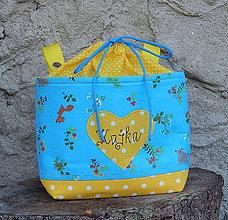 Textil - Košík / taška na bicykel - BikeBag Tyrkys - 8370439_