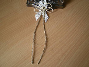 Pierka - vintage svadobné pierko XI. - 8370774_