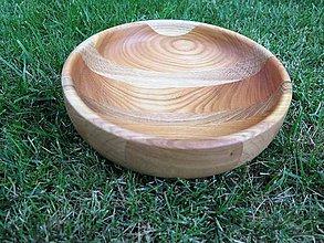 Nádoby - Drevená miska - intarzia - 8369881_