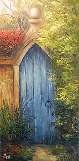 Obrazy - Tajemná brána - 8369842_