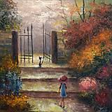 Obrazy - Návštěva zahrady - 8369845_