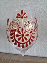 Nádoby - Pohár na víno červený - 8372276_