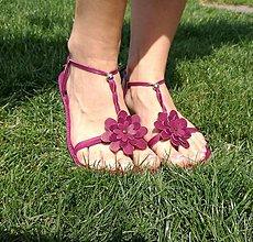 Obuv - Barefoot sandálky - 8370785_