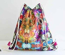 Batohy - Sunnylife (colorful) šnúrkový vak - 8374542_