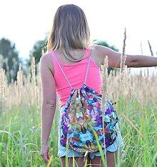 Batohy - Sunnylife (colorful) šnúrkový vak - 8374572_