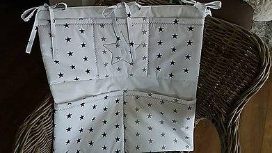Textil - Vreckár na postieľku - 8374033_