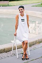 Šaty - FNDLK úpletové šaty 197 BLo - 8372996_