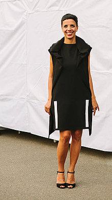 Šaty - FNDLK úpletové šaty 201 RsL - 8373051_