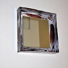 Zrkadlá - Štvorcové zrkadlo Pierka - 8373656_
