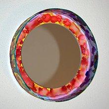Zrkadlá - Kruhové zrkadlo Dúha - 8373693_