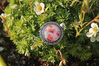 Iné šperky - Prívesok Kvety - 8374446_