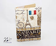 - Obal na knihu - Paríž, Londýn, Rím III. - 8375230_