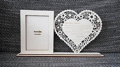 Nezaradené - Poďakovanie rodičom s foto rámčekom - 8374245_