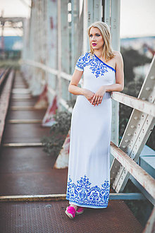 Šaty - Folklórne šaty - 8373372_