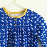 košuľka Ruženka Šípkovie Modrotlač stajl